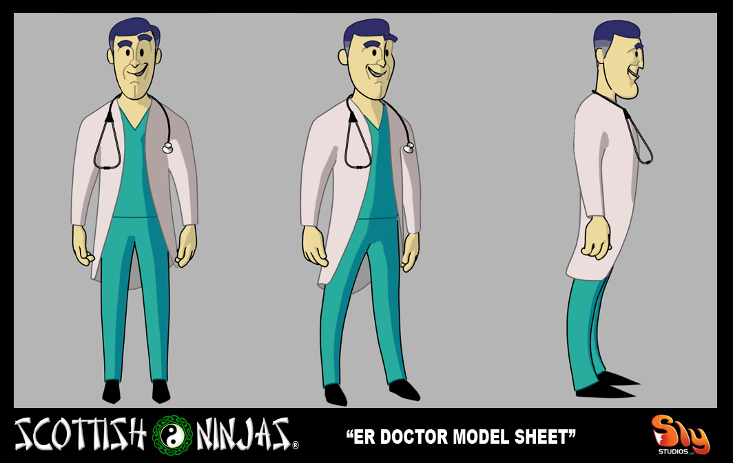 The Scottish Ninjas 187 Model Sheet